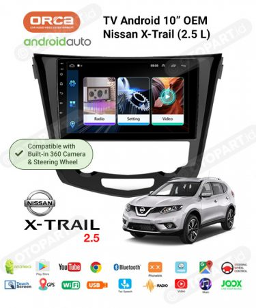 tv-android-nissan-xtrail-2500cc-compatible